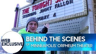 Behind the Scenes of Minneapolis' Orpheum Theatre