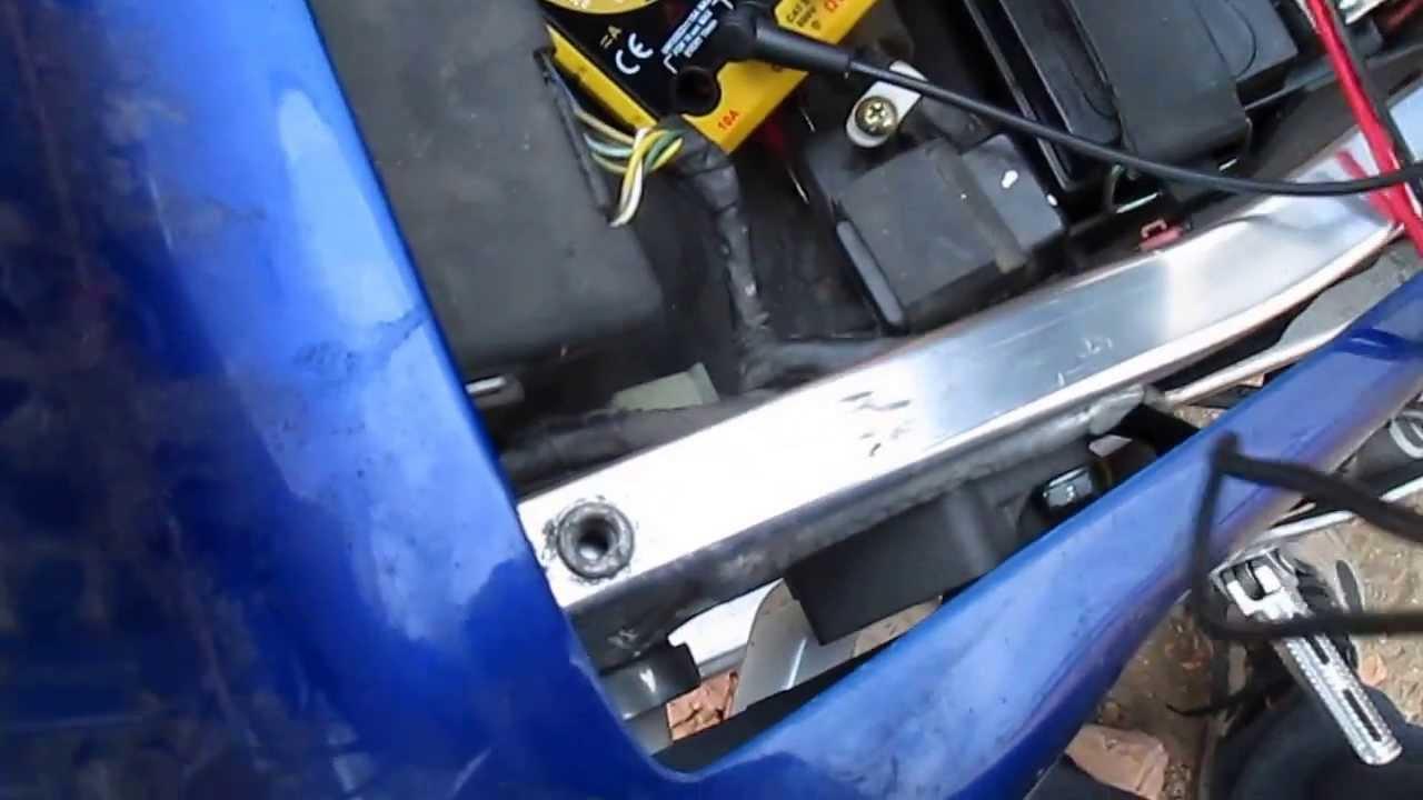 small resolution of honda cbr 900rr fireblade after repair of battery charging problem