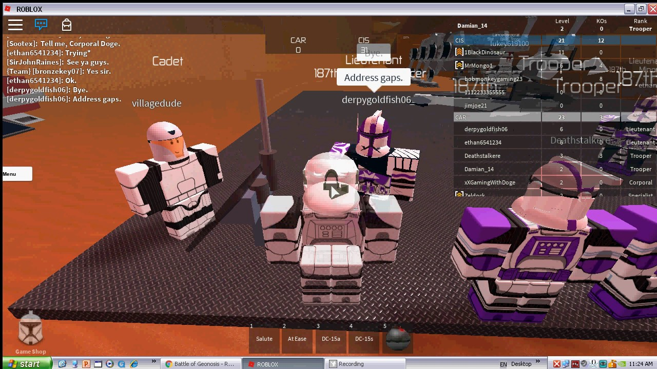 Roblox Star Wars 187th Tryout On Geonosis YouTube