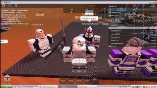 Roblox Star Wars 187th tryout on Geonosis