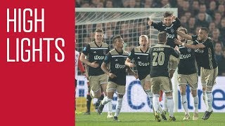 Highlights Feyenoord - Ajax (KNVB Beker)