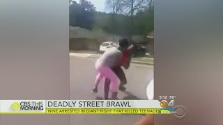 Street Brawl Turns Deadly For Teen In Georgia