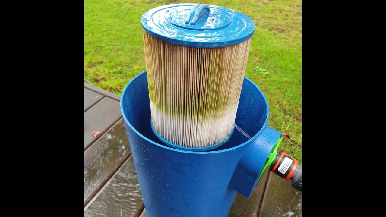 rengöring filter spabad