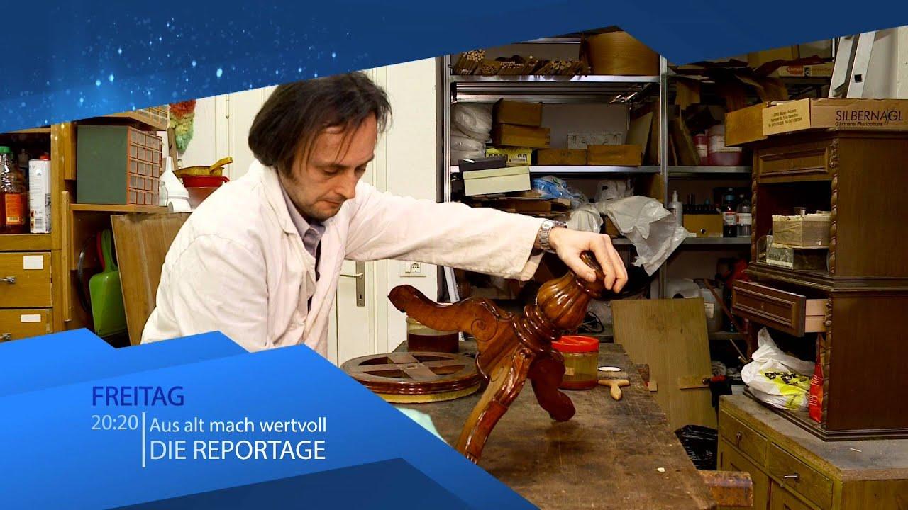 Antiquitäten & Kunst, Restauration von Biedermeier, Textilien, Instrumente (RAI Südtirol)