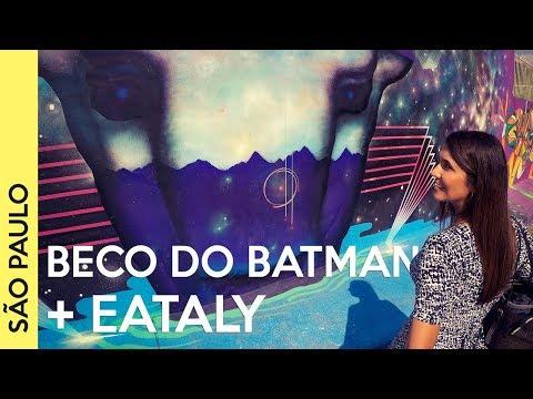 Beco do Batman, Eataly, WTM e Bike Tour em São Paulo!