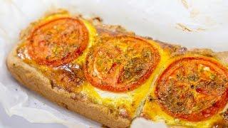 Творожный киш с сыром и помидорами   Пирог с сыром   Как приготовить киш
