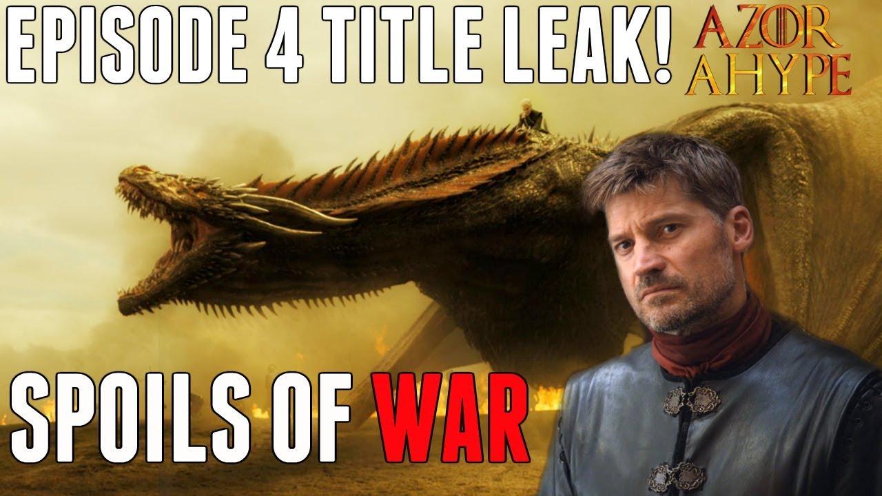 Game Of Thrones Season 7 Episode 5 Leak