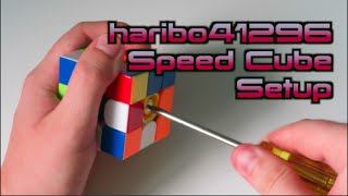 How I Set Up A Speed Cube.