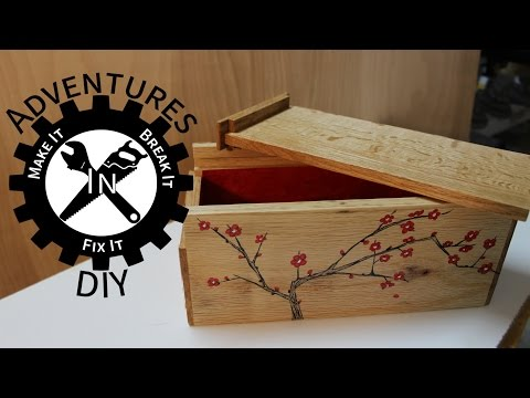 Quick and Easy Wooden Gift Box - Pallet Upcycle Challenge 2014