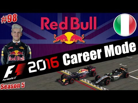 HAMILTON GETS AIRBOURNE!!!! F1 2016 CAREER MODE S5 R14 EP98 l ITALY!!