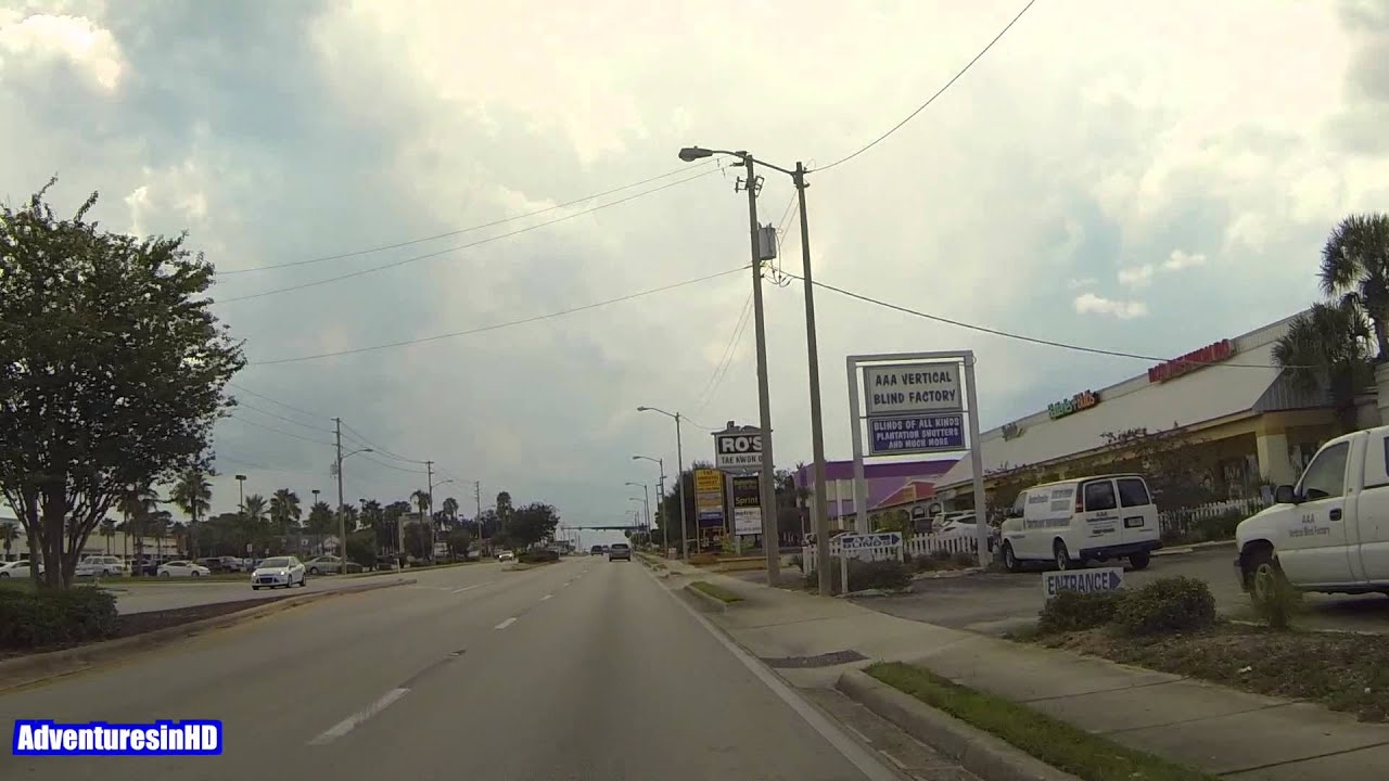 winter haven florida cypress gardens boulevard driving video youtube
