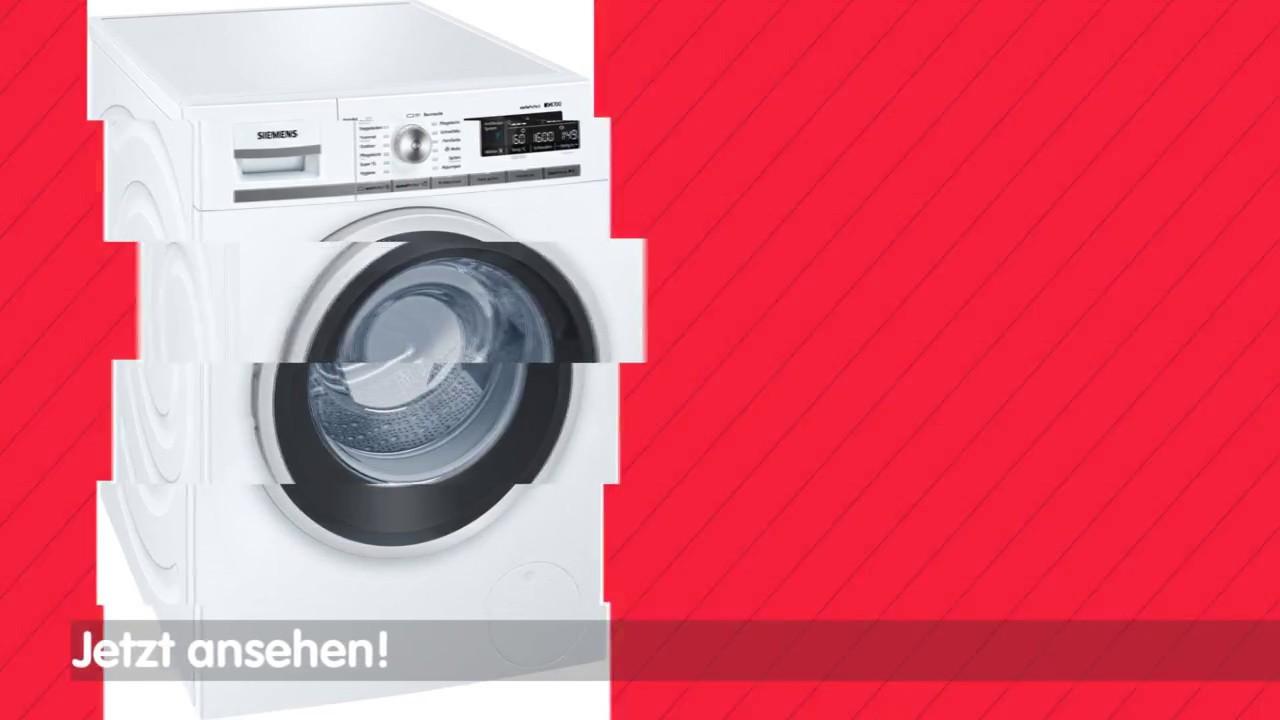 Siemens wm w waschmaschine youtube