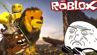 NEVER PLAY the LION KING OF DEEP WEB-Roblox Zueira
