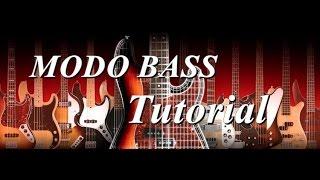 MODO Bass Tutorial PT BR