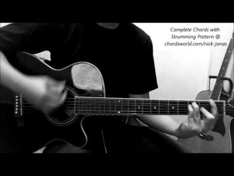 Avalanche Guitar Chords - Nick Jonas feat. Demi Lovato - Khmer Chords