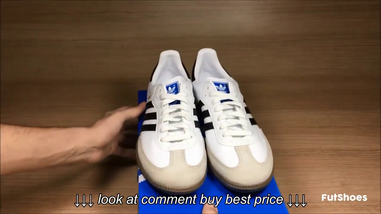 Adidas Samba Unboxing + On feet FutShoes - YouTube c5abac538
