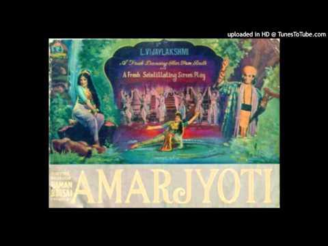 Lata Mangeshkar - Sambhal Ke Qadam Rakhna - Amar Jyoti - Vasant Desai - Bharat Vyas