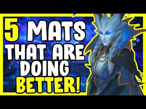 5 Mats That Are Doing Better In WoW Shadowlands - Gold Making, Gold Farming Guide