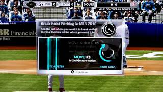MLB 2K10 (Xbox 360) Gameplay (Yankees vs. Phillies) HD