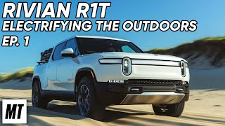 homepage tile video photo for Rivian R1T: Electrifying the Outdoors | Nags Head to Dalton | MotorTrend