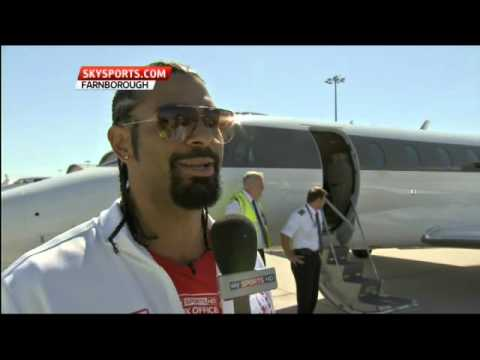Haye jets off to Germany