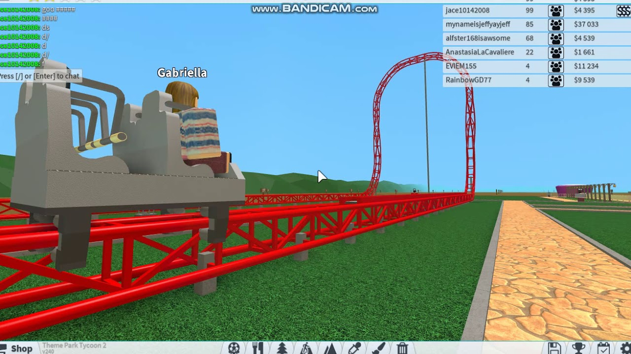 Top Thrill Dragster In Theme Park Tycoon 2