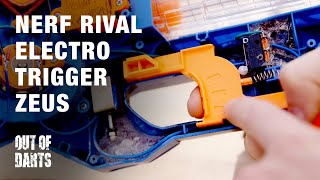 MOD: Nerf Zeus fully electronic trigger (Solenoid)
