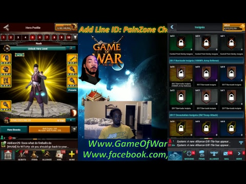 Game Of War Ep 486 Live Streaming Trap Testing