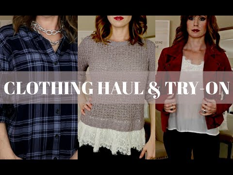 d2a6cb3aba1 CLOTHING HAUL   TRY-ON