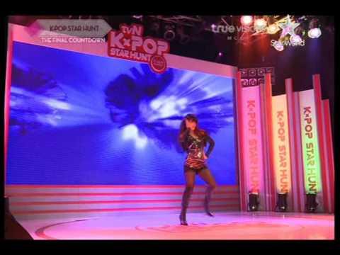 [Thaisub] TVN Kpop Star hunt (Final) Sorn - Not myself tonight [4/8]