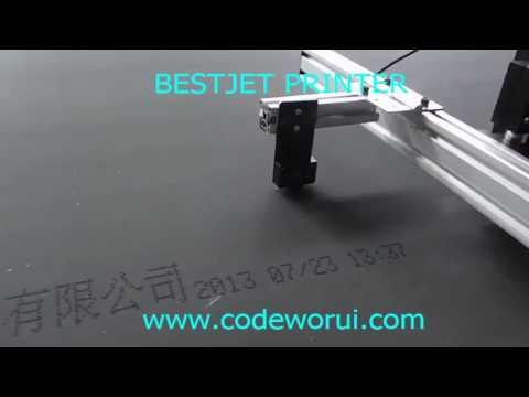 BESTJET ALC200 water base large coder print on board video