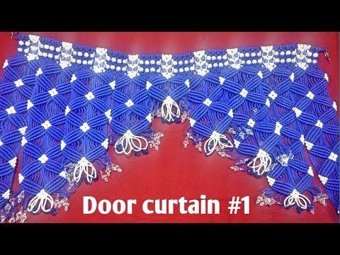 Making of door curtain #1