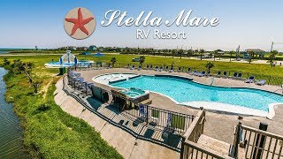 The BEST RV park in Texas: Stella Mare RV Resort