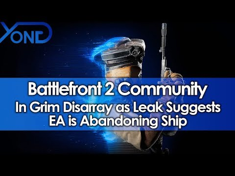 Battlefront 2 Community in Grim Disarray as Leak Suggests EA is Abandoning Ship