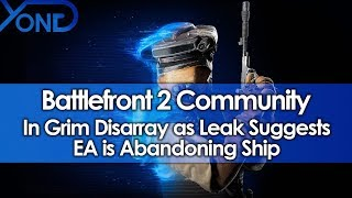 Battlefront 2 Community in Grim Disarray as Leak Suggests EA is Abandoning Ship thumbnail