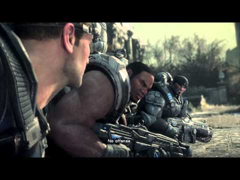 "Gears of War Ultimate Edition - Act IV Imaginary Place: Fenix Residence ""Locust Are Inside"" Cutscene"