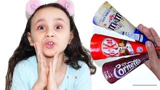 مريومة و الايسكريمات الشهية!! Delicious ice creams