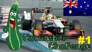 F1 2012 Career Mode Part 1: Australia (Cucumber Challenge)