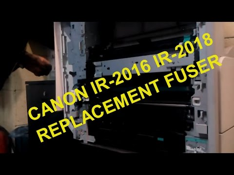 Canon ir2016 ir2018 replacement fuser