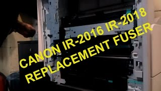 Canon ir2016 ir2018 replacement fuser