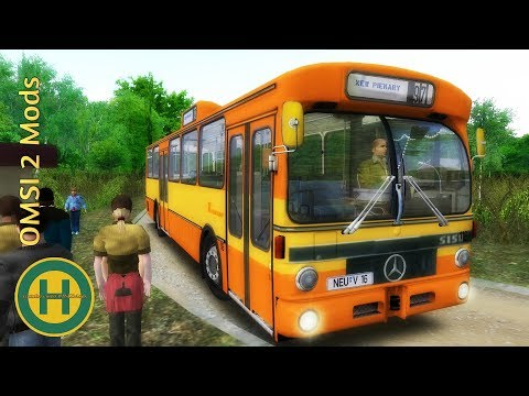 OMSI 2 - New Piekary Bus & Tram map and Mercedes-Benz O305 modification