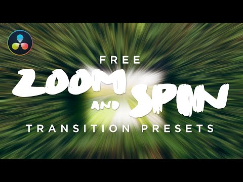 Free Zoom & Spin With Camera Shake Transitions - DaVinci resolve 15 | Ham House