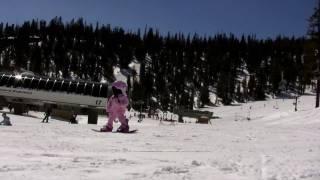 Snowboard Girl  1 year old