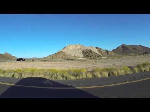 South on AZ SR 85 from Gila Bend, Arizona to Black Gap, Barry M Goldwater Air Force Range, GP052212
