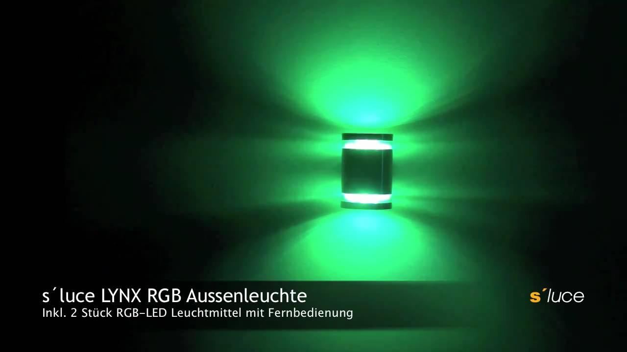 Licht Skapetze s luce lynx rgb aussenleuchte licht design skapetze