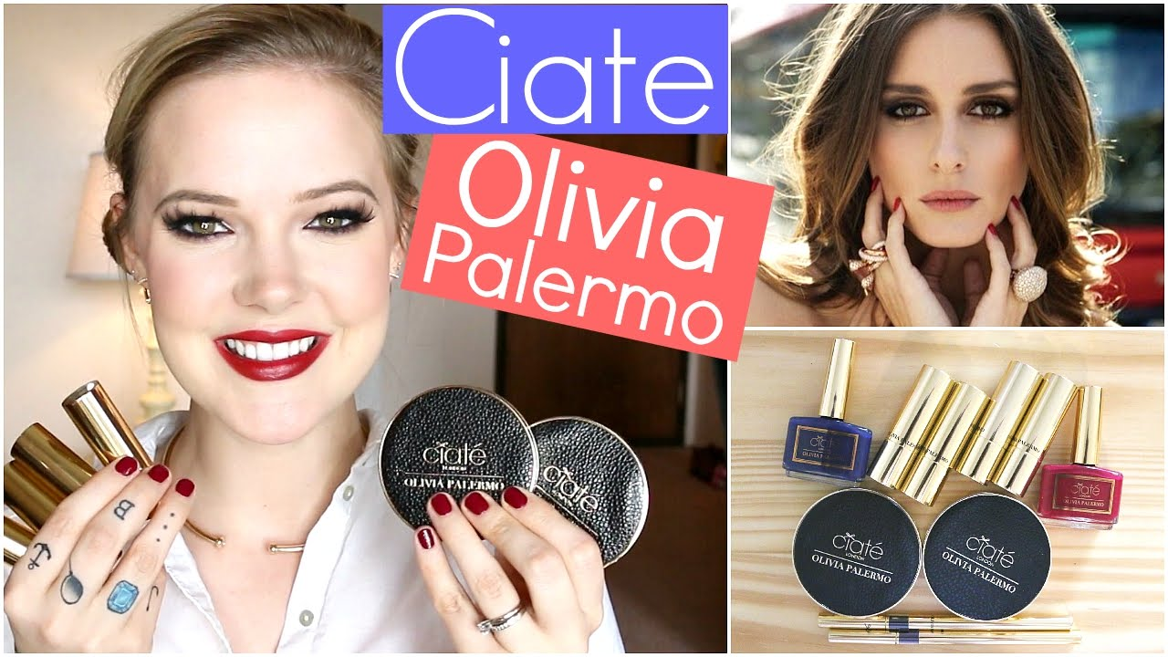 Palermo olivia for ciate fall makeup collection images