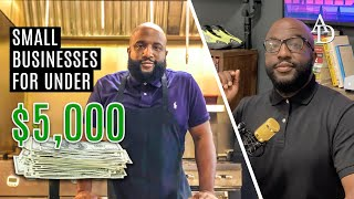 7 SMALL BUSINESSES you can start for UNDER $5,000... Millionaire Game | After Hours