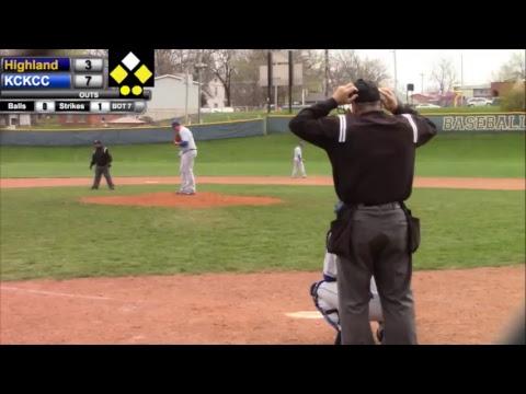 Highland Baseball vs. Kansas City Kansas CC- Game 1
