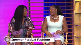 Sister Circle | Summer Festival Fashion with Celeb Stylist Shatava Lindsey | TVONE