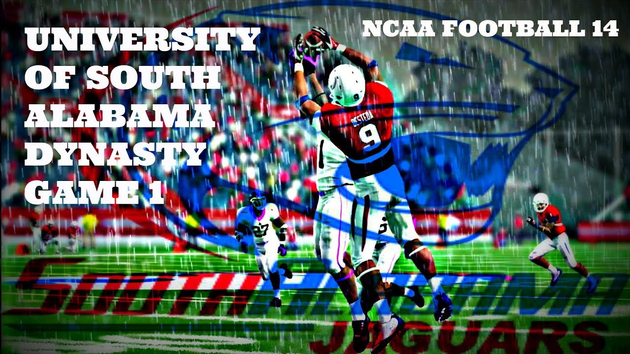 Ncaa football 14 university of south alabama dynasty game 1 ncaa football 14 university of south alabama dynasty game 1 youtube sciox Gallery